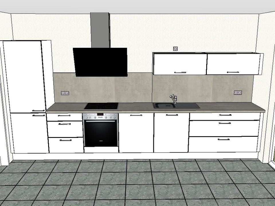 Küchenansichten 3. OG links W